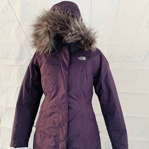 North Face Hyvent Parka- women's Small